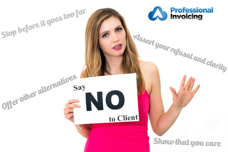 How to say no to a client