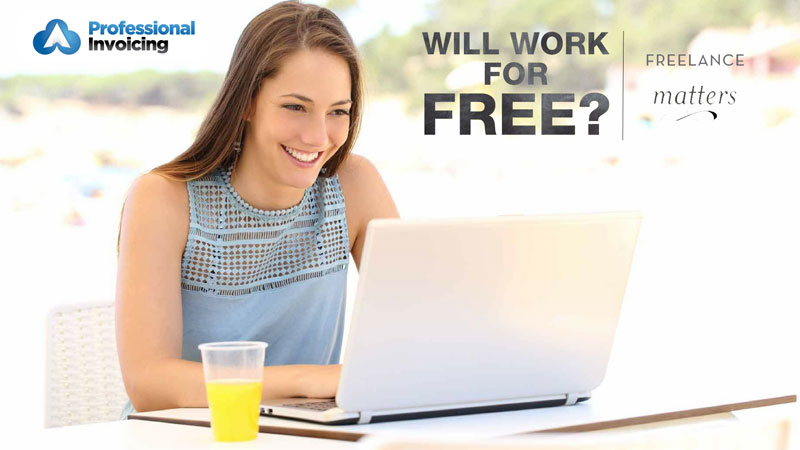 Should Freelancers Ever Work for Free?