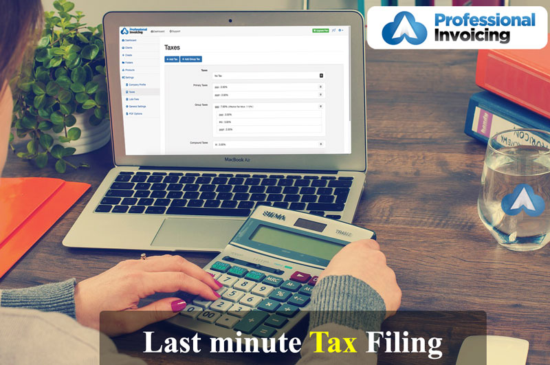 Tips on Last Minute Tax Filing